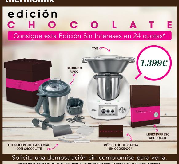 Promoción especial chocolate