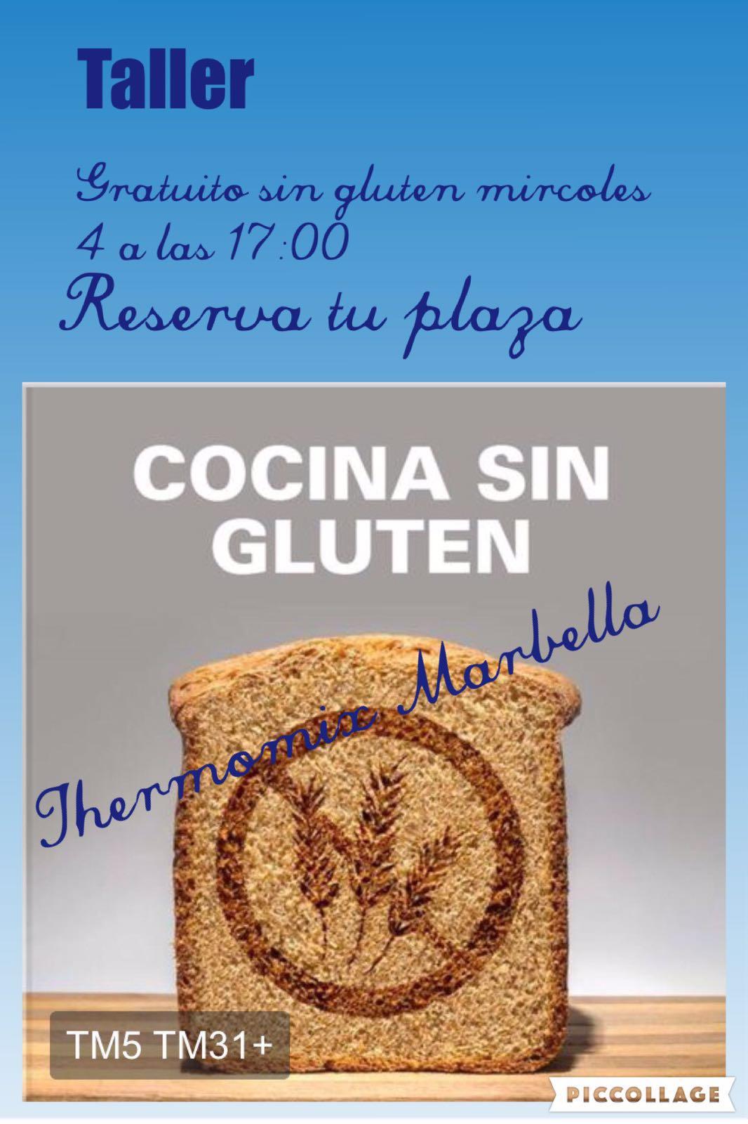 taller sin gluten en delegación marbella