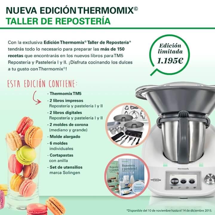Nueva Edición de Thermomix® , Edición Taller de Reposteria