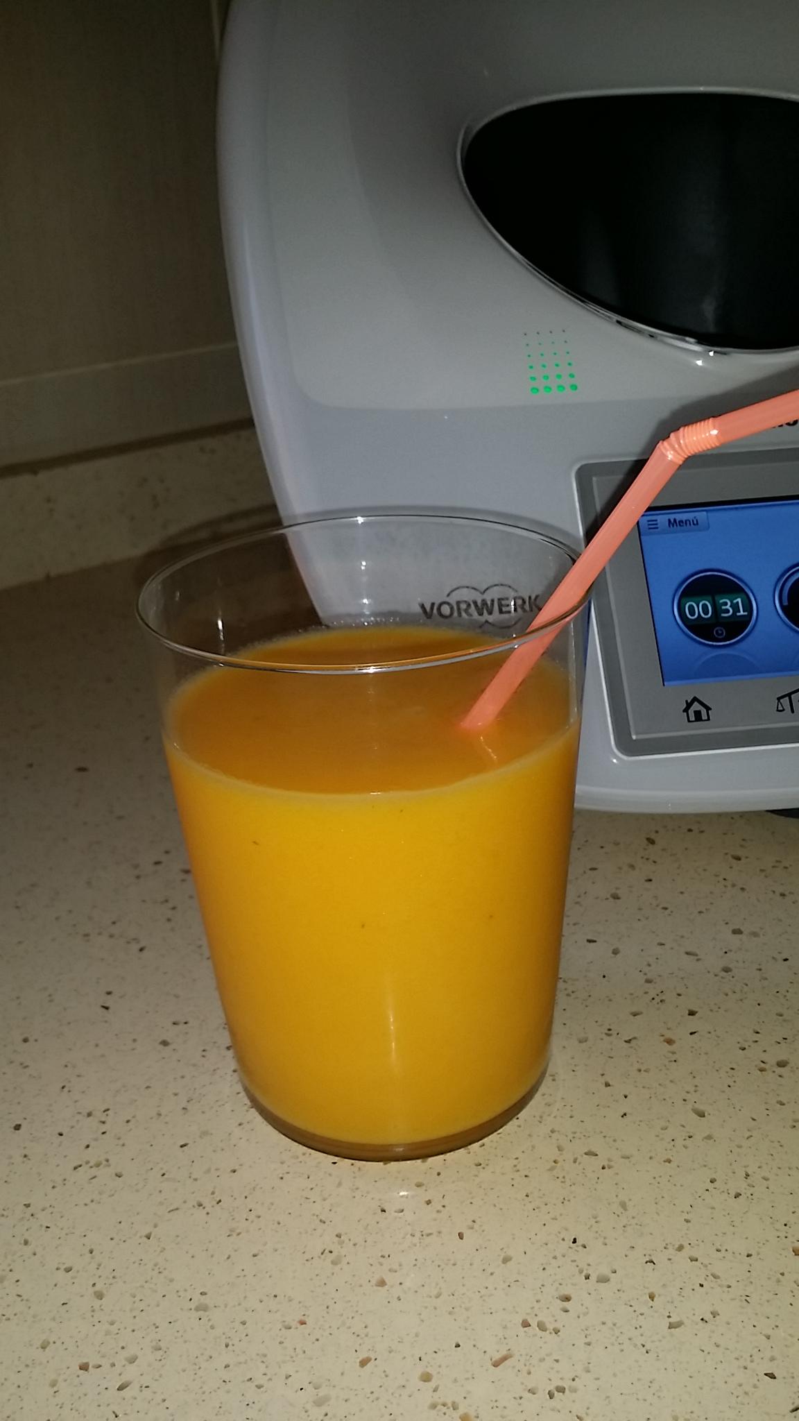 Zumo multifrutas con Thermomix®