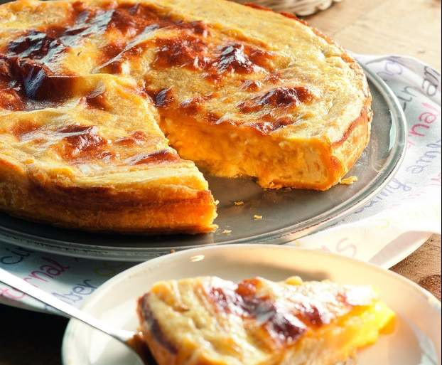 Tortilla de patata en hojaldre: