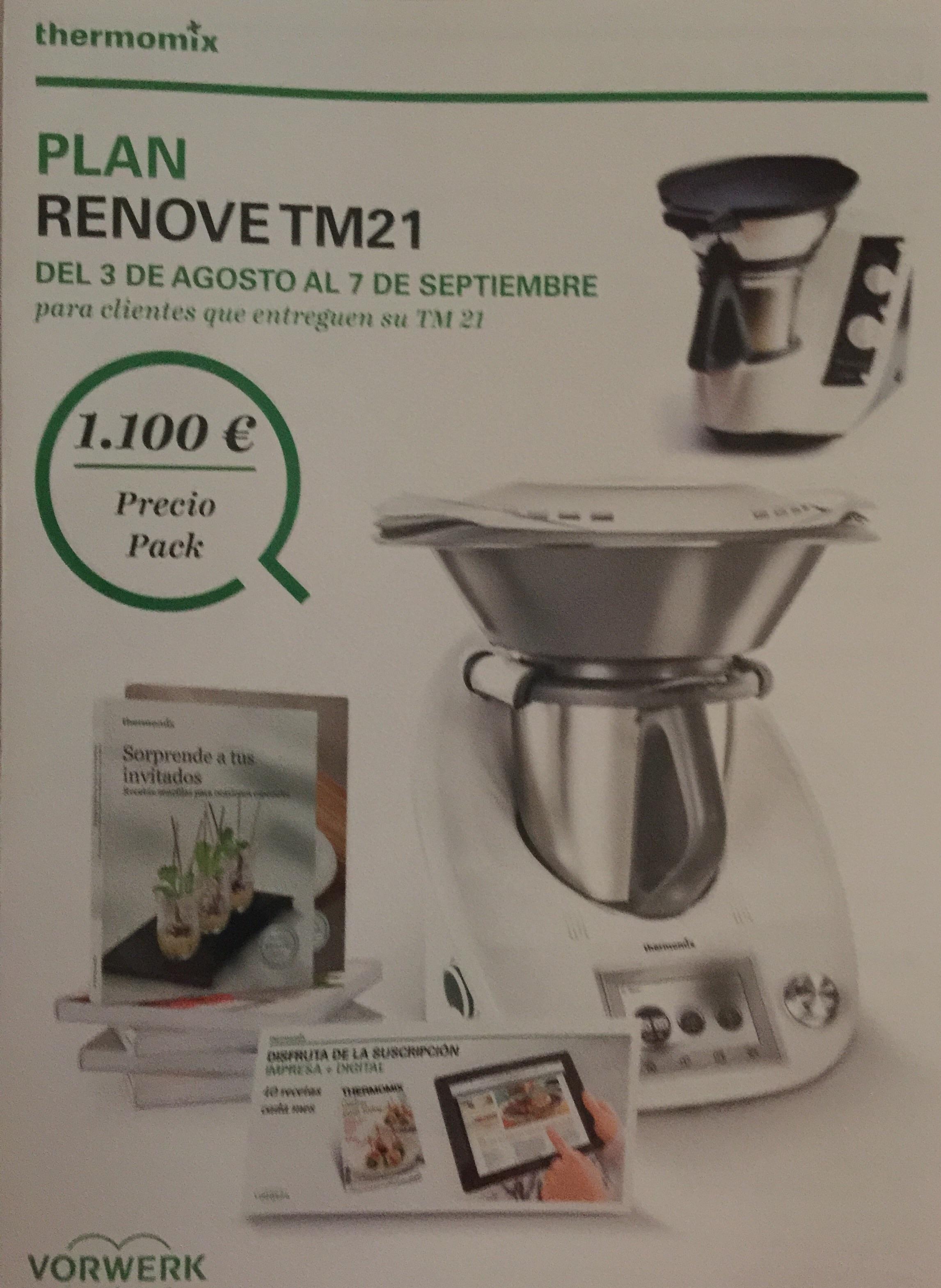 Plan renové de Thermomix® 21 a tm5