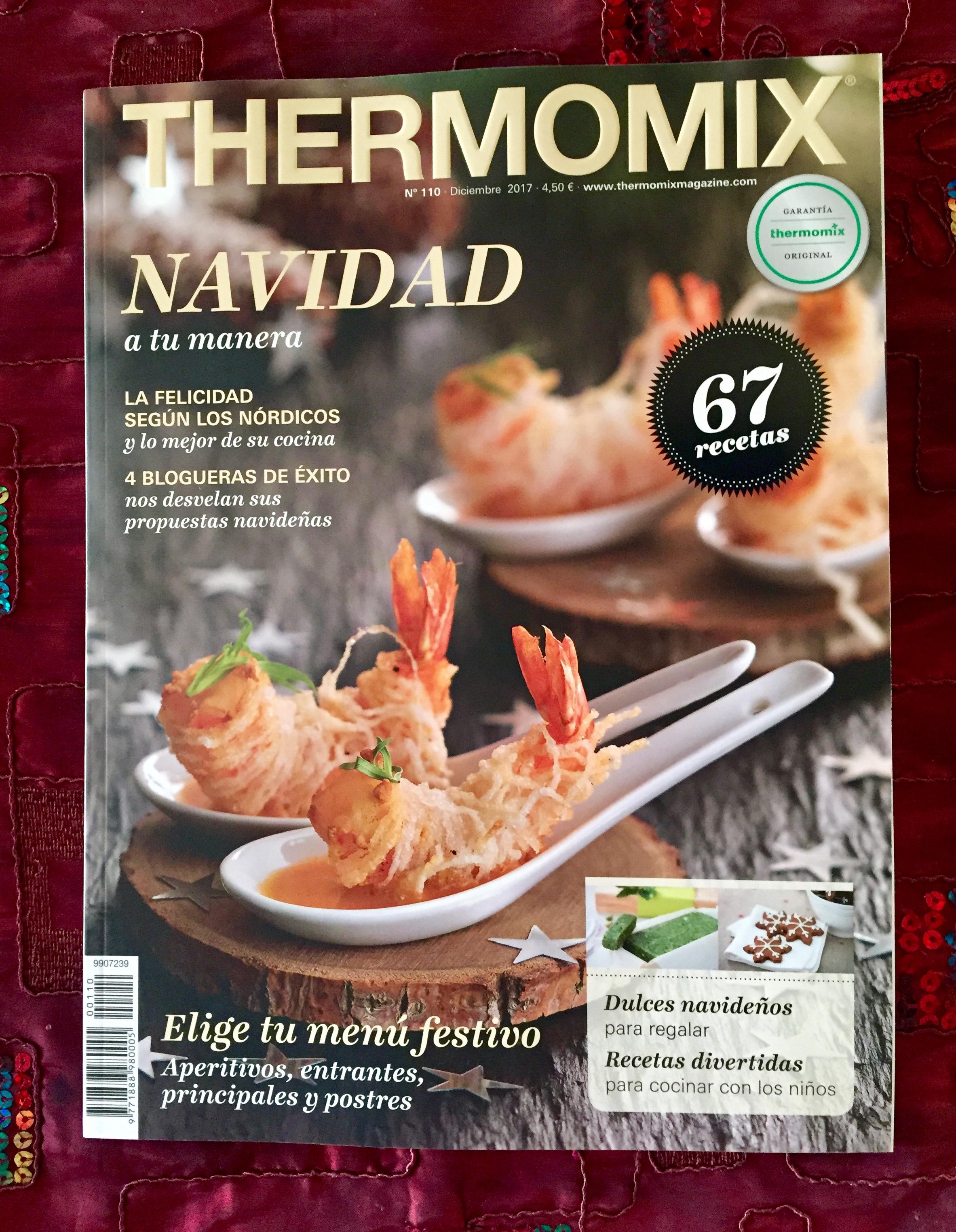 Mi Crema De Gambon En La Revista De Navidad De Thermomix