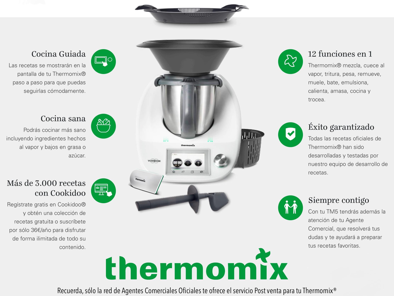 Cocinar Con Thermomix Funciones Básicas Noticias Blog