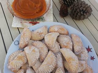Empanadillas rellenas de crema de boniato en Thermomix®
