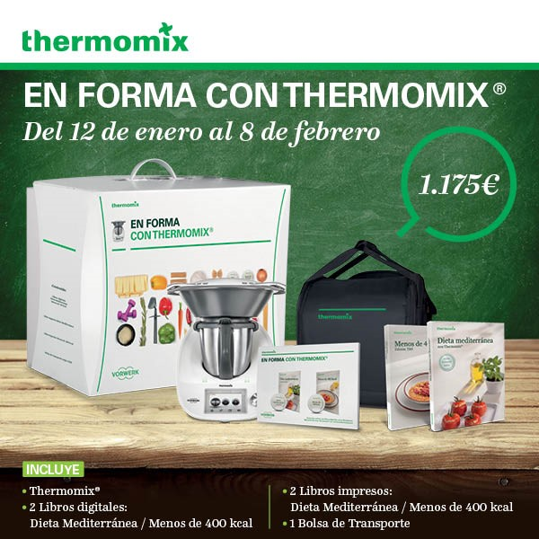 Nueva edicion TM5 ponte en forma con Thermomix®