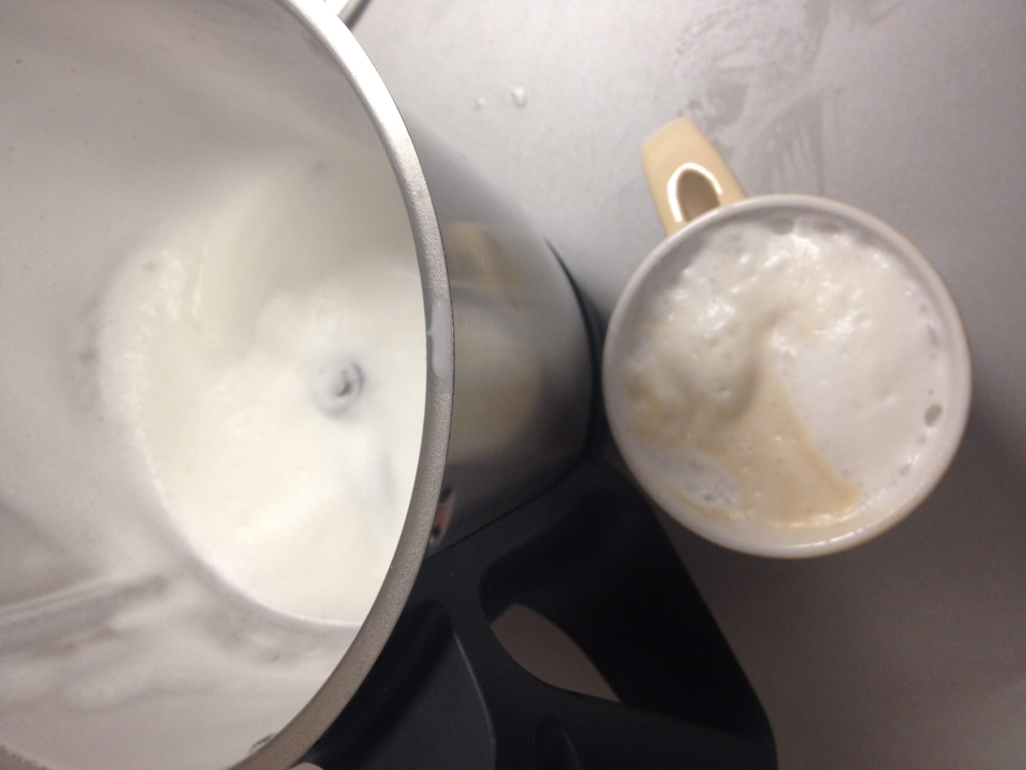 Espuma de leche con Thermomix®