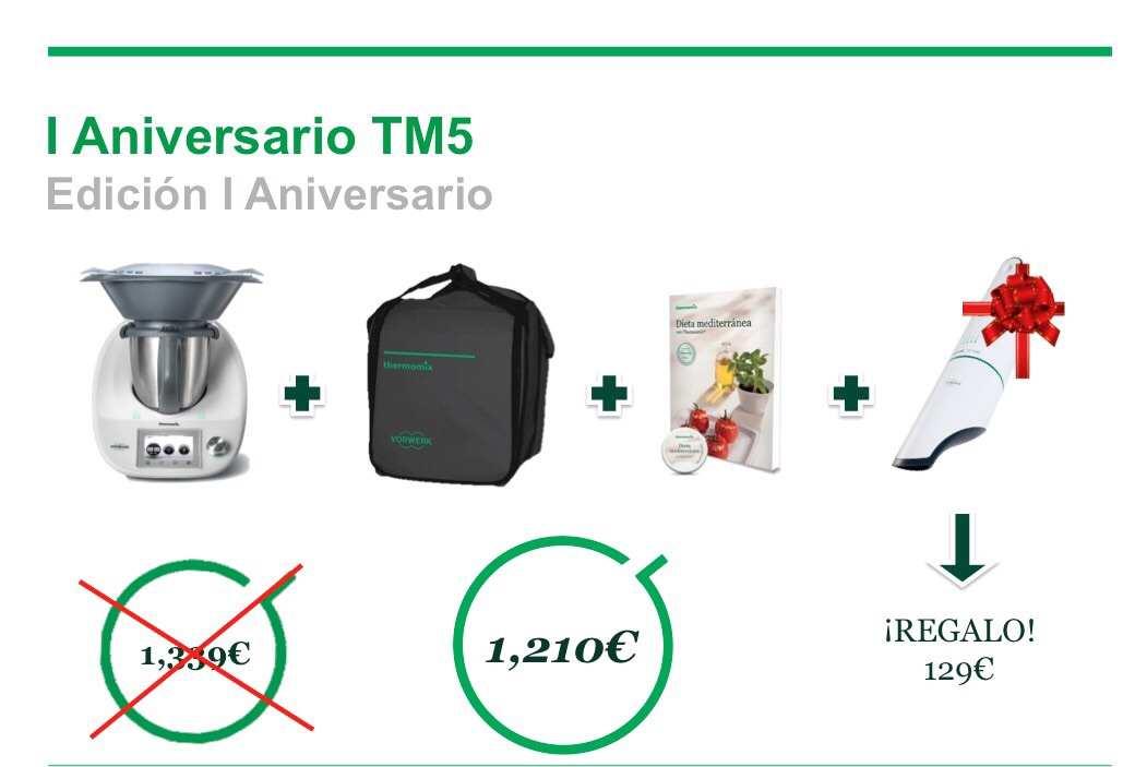 Edición Especial Primer Aniversario de Thermomix® TM5