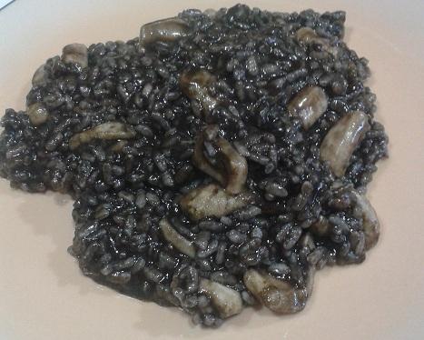 Arroz negro con calamares en Thermomix®