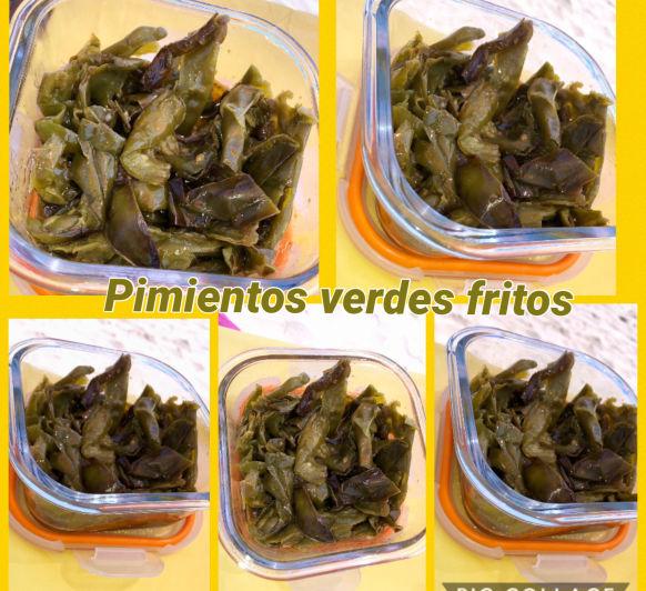 Pimientos verdes Fritos en Thermomix®