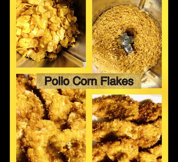 Pollo Corn Flakes con Thermomix®