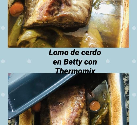 Lomo de Cerdo en BETTY con Thermomix®