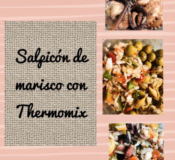 Salpicón de marisco con Thermomix®