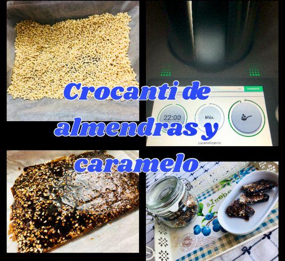 Crocante de almendras y caramelo en Thermomix®