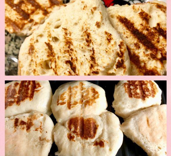 Bao Buns con leche entera y leche de coco con Thermomix®
