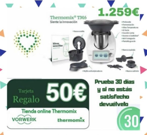 Hasta el 19/06/2020 llévate 50 euros de regalo al comprar tu Thermomix®
