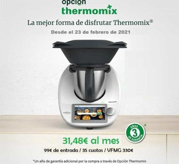 LA CUOTA MÁS BAJA DE Thermomix®
