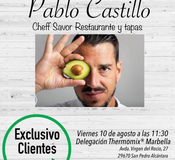 Master class Pablo Castillo con Thermomix®