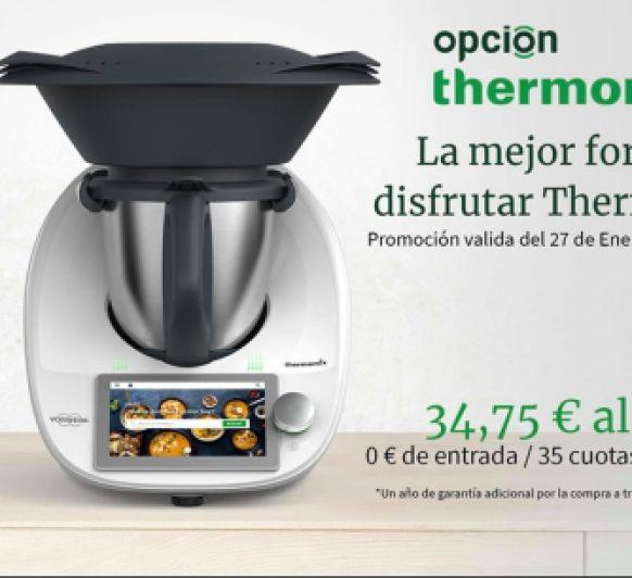 Opción Thermomix® sin entrada y 3 años garantía
