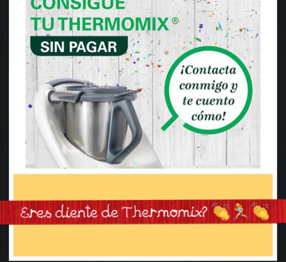 Por ser cliente de Thermomix® , consigue tu TM5 sin pagar