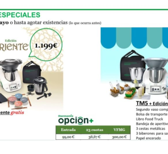 EDICIONES ESPECIALES DE Thermomix® TM5