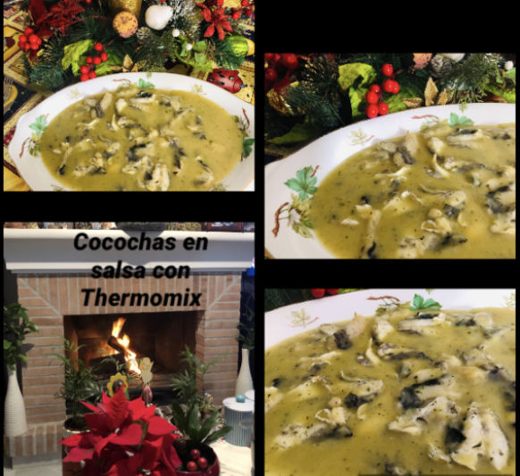 Cocochas en Salsa con Thermomix®