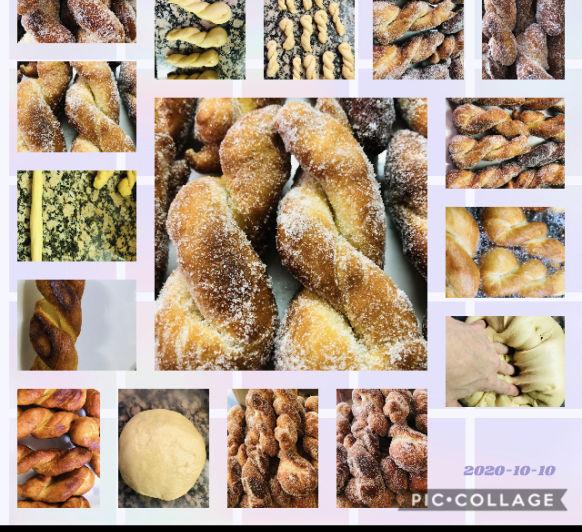 Rosquillas-Buñuelos de azúcar en Thermomix®