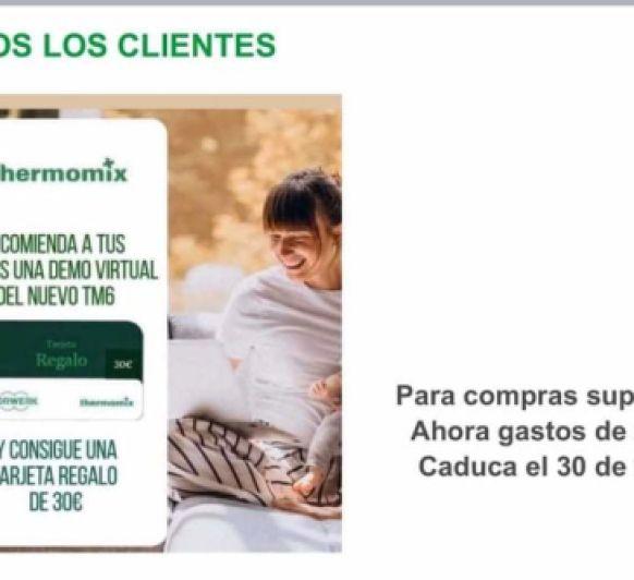 Consigue tu cheque regalo de 30€ para la tienda online de Thermomix® .