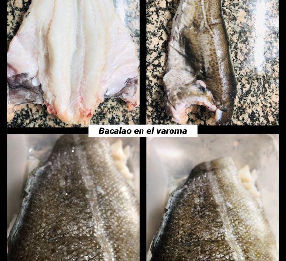 Bacalao en el varoma con Thermomix®