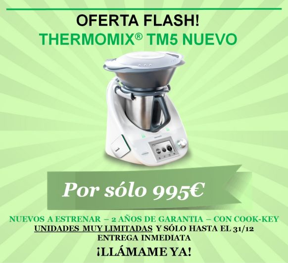 Oferta Flash Thermomix® TM5