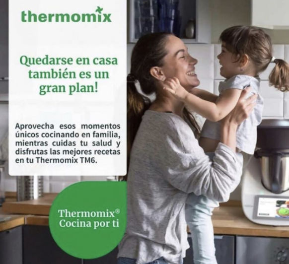 """""""Yo me quedo en Casa"""" y cocino con Thermomix® te apuntas?"""