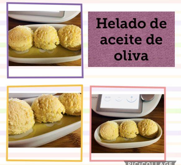 Helado de Aceite de Oliva con Thermomix®