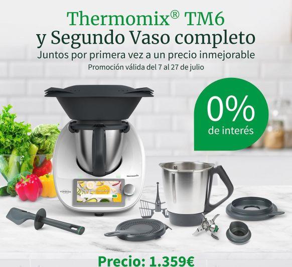 Thermomix® sin intereses y con Segundo vaso