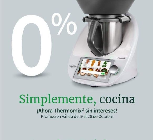 Thermomix® 0% INTERESES