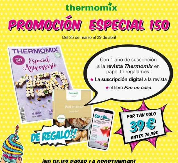 Aniversario Thermomix® Magazine