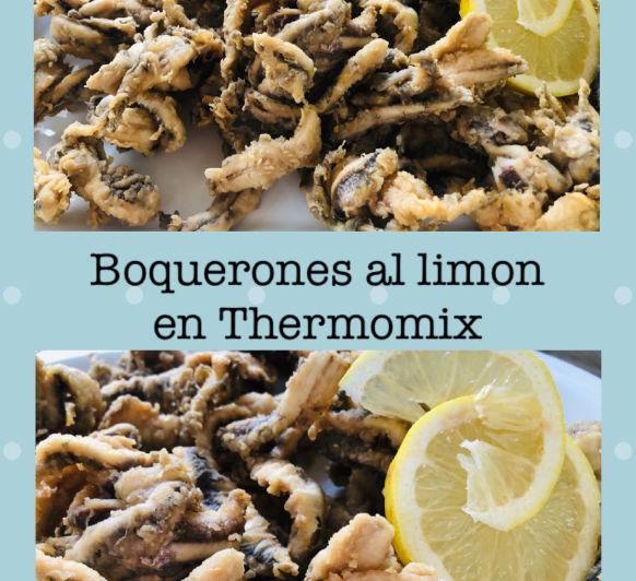 Boquerones marinados al limón en Thermomix®