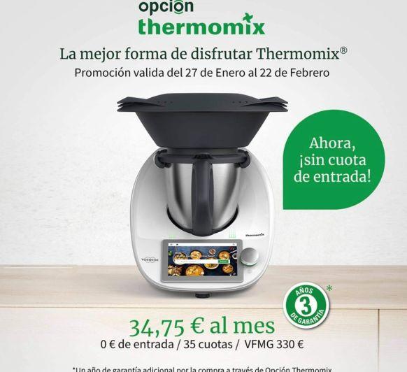 LA CUOTA MÁS BAJA DE Thermomix® TM6
