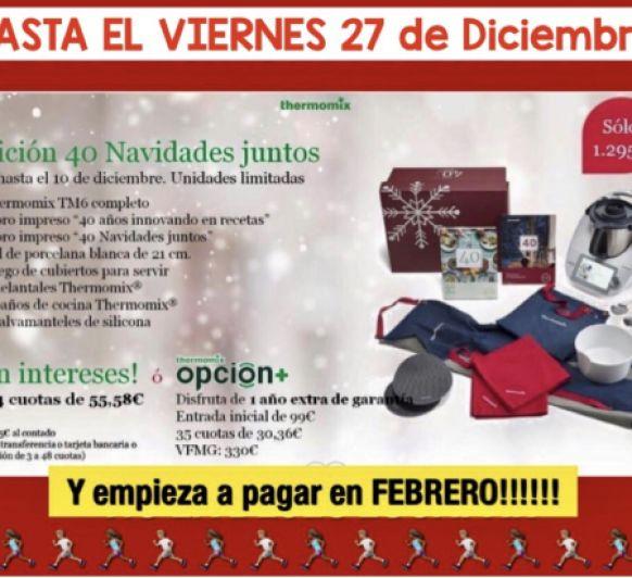Edición 40 Navidades Juntos-Sin Intereses