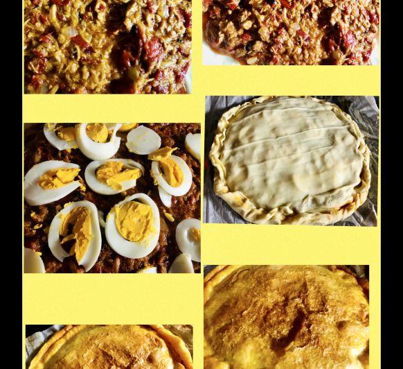 Empanada de Atún y huevo en Thermomix®