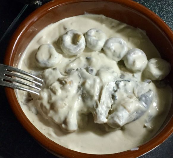 Salsa de Setas y champiñones con Thermomix®
