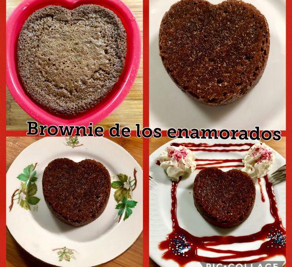 Mi brownie especial enamorados en Thermomix®