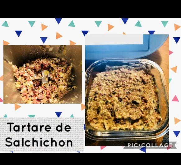 Tartare de Salchichón con Thermomix®