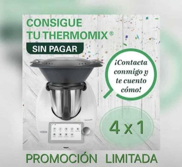Consigue tu Thermomix® , sin pagar