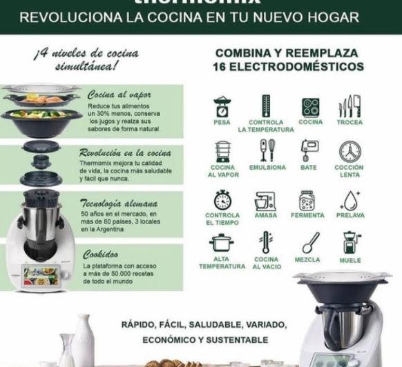 Thermomix® REEMPLAZA 16 ELECTRODOMESTICOS