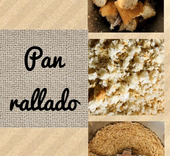 Pan Rallado con Thermomix®