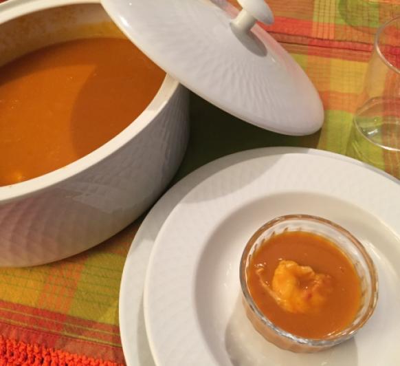 Crema de Gambon Argentino con Thermomix®